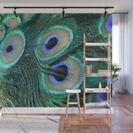 Tail of the Peacock Wall Mural