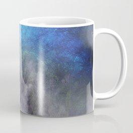 Wild waterfall in abstract Coffee Mug