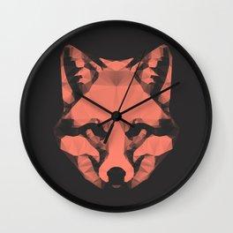 Geo - Fox  Wall Clock