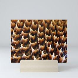 Flames In Nature Mini Art Print