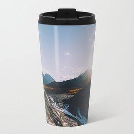 Glacial Meltwater Sunrise - Kenai Fjords National Park Travel Mug