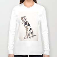 best friend Long Sleeve T-shirts featuring Best Friend by Amanda Vieira