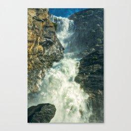 Hetch Hetchy Wapama waterfall Canvas Print