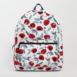 Painting the Roses REd Backpack