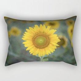 Tournesol jaune Rectangular Pillow