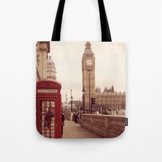 London Booth Tote Bag