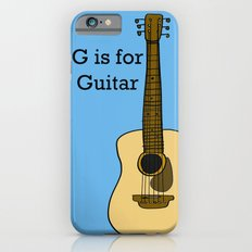 G is for Guitar Slim Case iPhone 6s