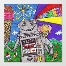 Summer Yum Canvas Print
