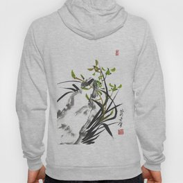 Green Orchid One Hoody