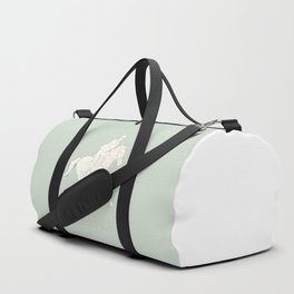 Eventing in green Duffle Bag
