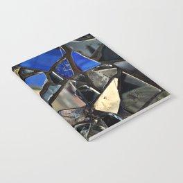 Closeup (PHOTO) of a Glass Mosaic Notebook