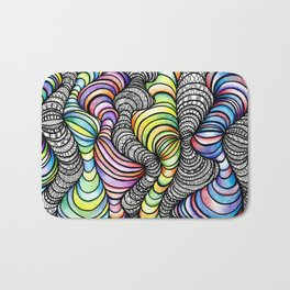 ripple & wave Bath Mat