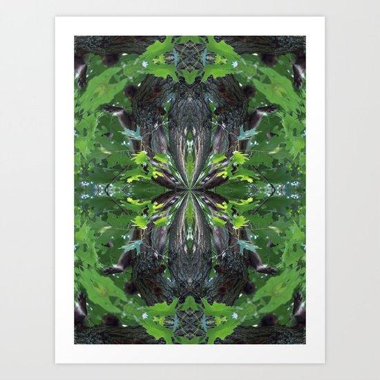 Nature's Twists # 17 Art Print