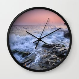 La Joya beach. Wall Clock
