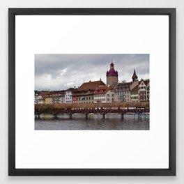 Lucern, Switzerland Framed Art Print