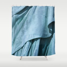 Lady Liberty's Robe #1 Shower Curtain