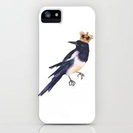 Magpie Monarch iPhone Case