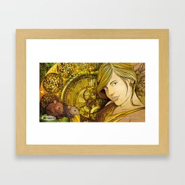 One Upon a Time Framed Art Print