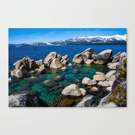 Sand Harbor. Lake Tahoe. Nevada. USA. Canvas Print