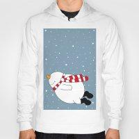 snowman Hoodies featuring Snowman by SANTA