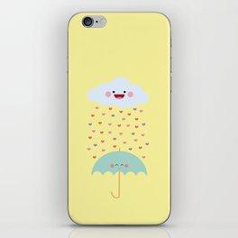 Love Rain iPhone Skin
