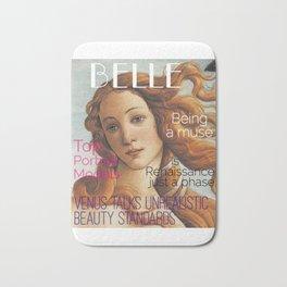 Renaissance Magazine Bath Mat
