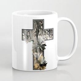 Fluid Art Cross Coffee Mug