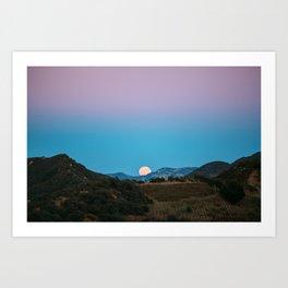 Giant Moon Art Print