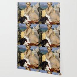 Jean-Léon Gérôme - Young Greeks Attending a Cock Fight Wallpaper