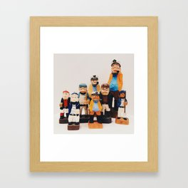 Sea Homies Framed Art Print