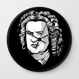 Bach Portrait Wall Clock
