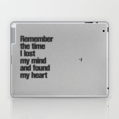 Remember The Time... Laptop & iPad Skin
