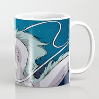 spirited away Mugs featuring Spirited Away by nellfoxface