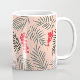 Holiday Mistletoe Pattern Coffee Mug