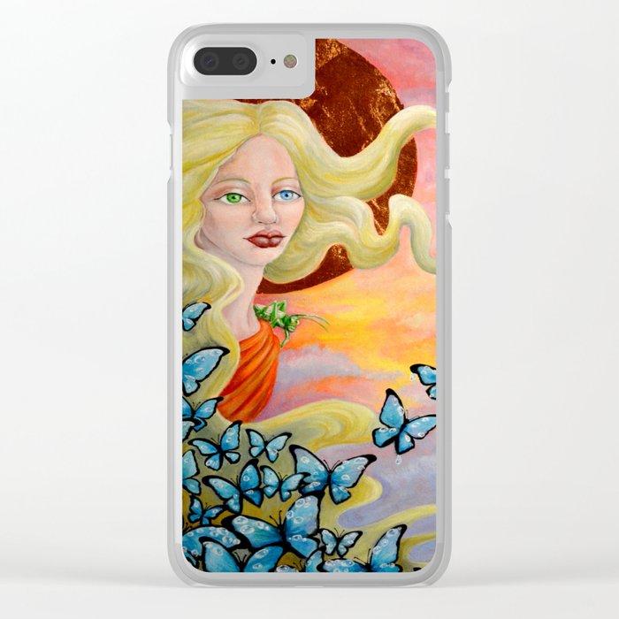 Aurora Clear iPhone Case