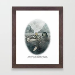 Behind You 40 Framed Art Print