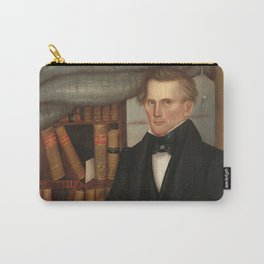 Vermont Lawyer Oil Painting by Horace Bundy Carry-All Pouch
