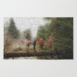 Through the Woods  Rug