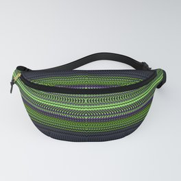 Apple Grape Rag Weave I by Chris Sparks Fanny Pack