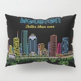 Houston Better Than Ever Circuit Pillow Sham