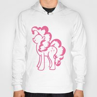 pie Hoodies featuring Pinky Pie by Tanya Thomas