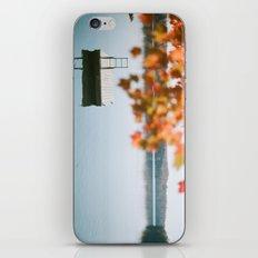 lake side view  iPhone & iPod Skin