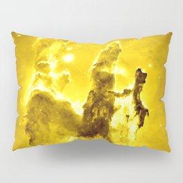 Yellow neBUla Pillars of Creation Pillow Sham