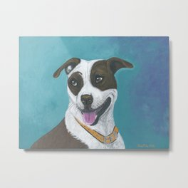 Smilly Face Metal Print