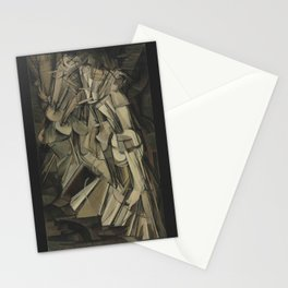 Marcel Duchamp - Nude Descending a Staircase, No. 2 Stationery Cards