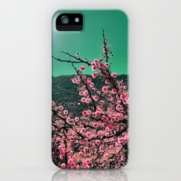 Pink Cotton Balls and the Sun iPhone Case