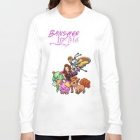 lydia martin Long Sleeve T-shirts featuring PokeWolf: Lydia Martin by Trickwolves