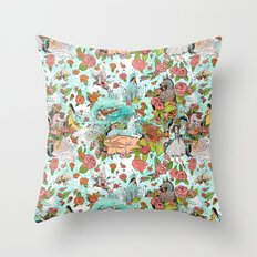 Fairy Tale Tapestry Throw Pillow