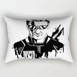 Avengers in Ink: Hawkeye Rectangular Pillow