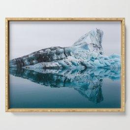 Jökulsárlón Glacier Lagoon Serving Tray
